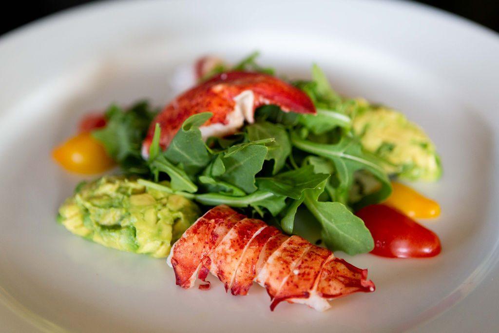 Lobster Salad Avocado, Arugula, Tofu-Lime Dressing