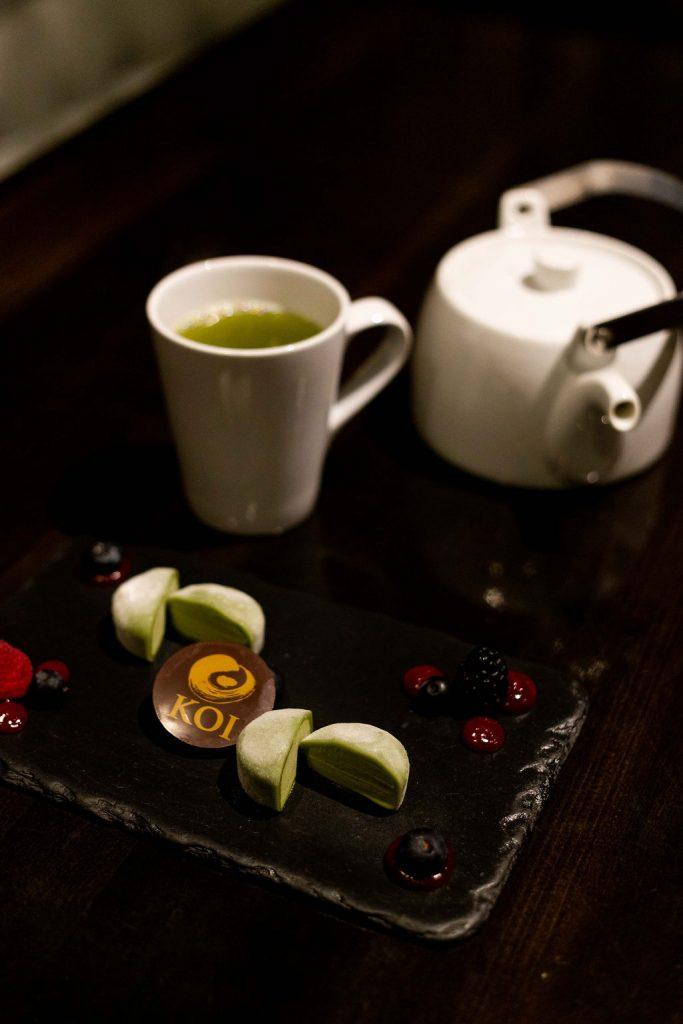 Green Tea & Mochi