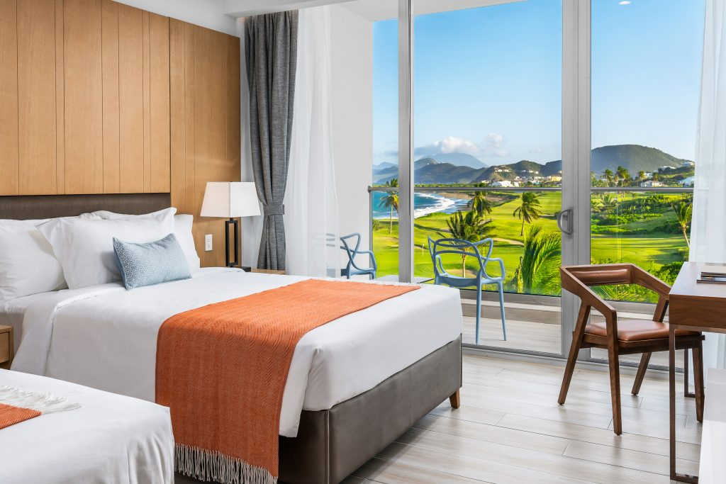 Seaside Double Bed Golf View