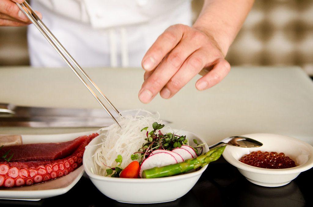 Koi Chef Plating