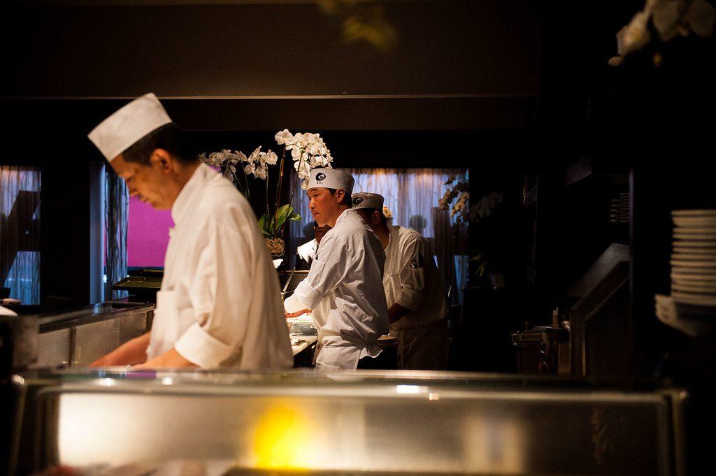 Sushi Bar & Sushi Chefs