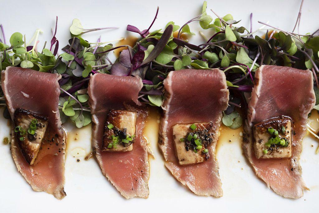 Foie Gras On Seared Tuna