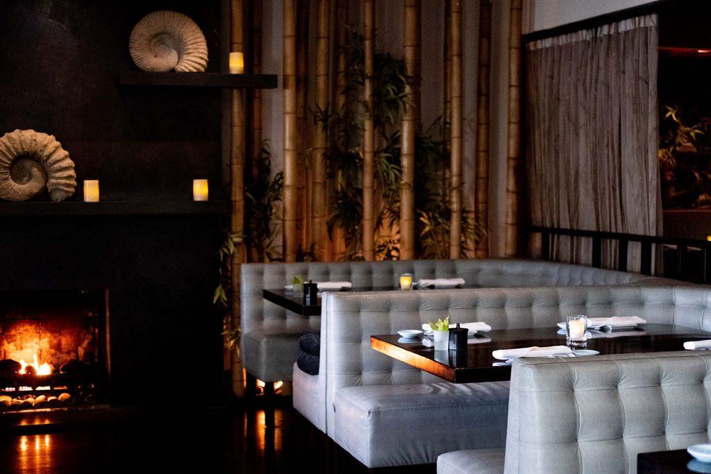 KOI Restaurant Dining Room