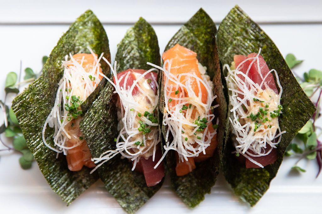 Sashimi Tacos