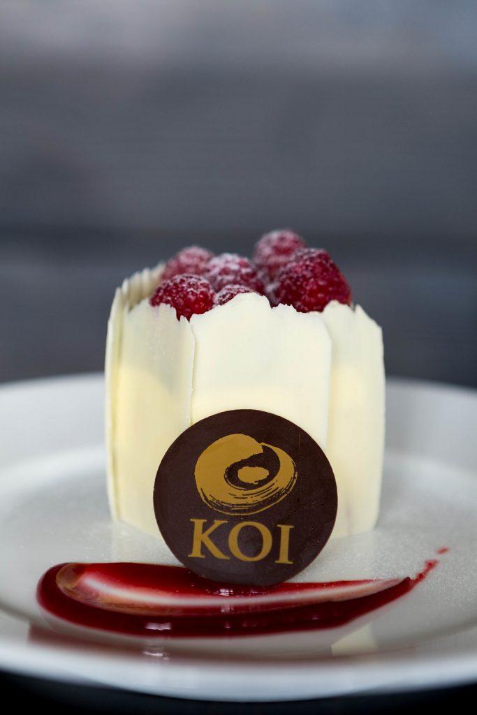 Koi Homemade Cheesecake berries