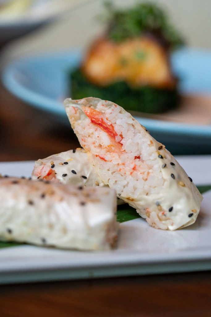 Baked Crab Roll